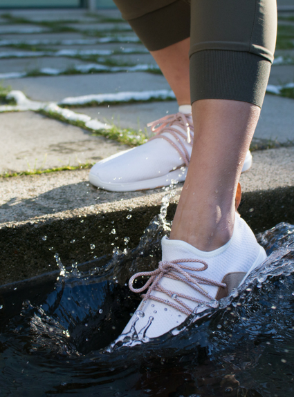 The World's First Waterproof Knit Shoes