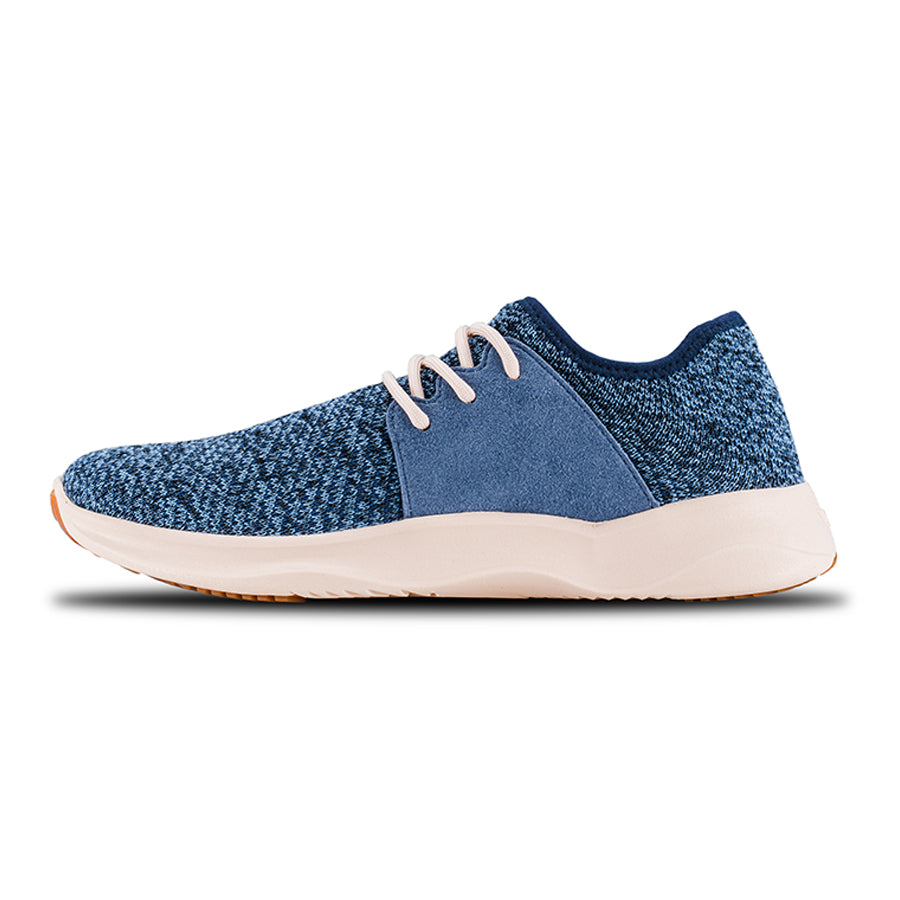 Women's Everyday - Carbon Blue on Off White