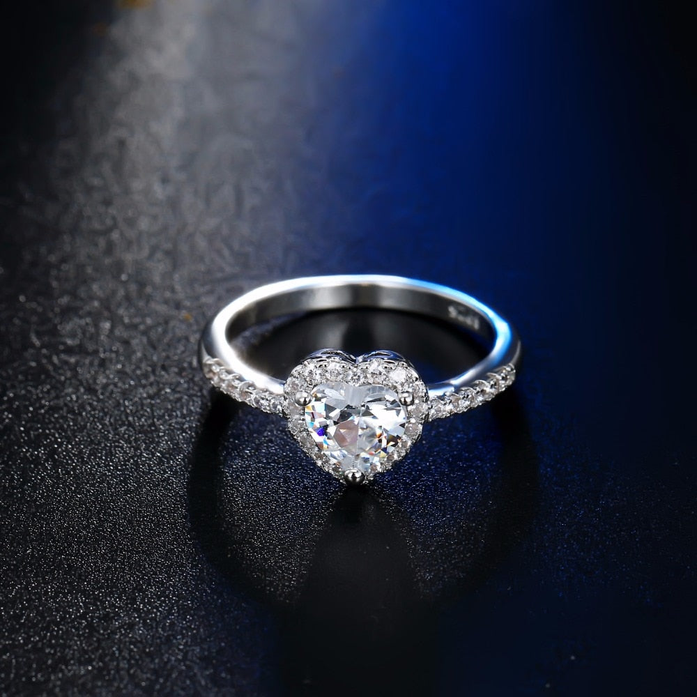 Fashion Wedding Rings Women's Glamour Jewelry