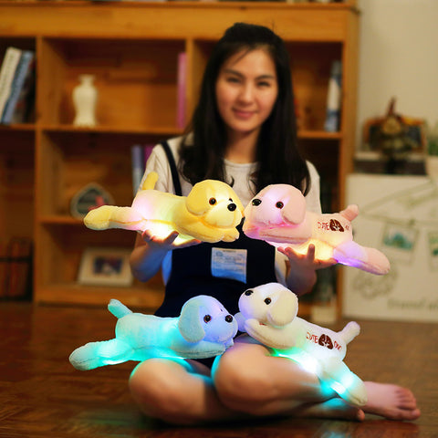 "Glowing Puppy Plush (13.8""/35cm)"