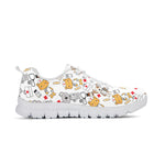 Super Health Friends White Sneakers