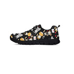 Super Health Friends Black Sneakers