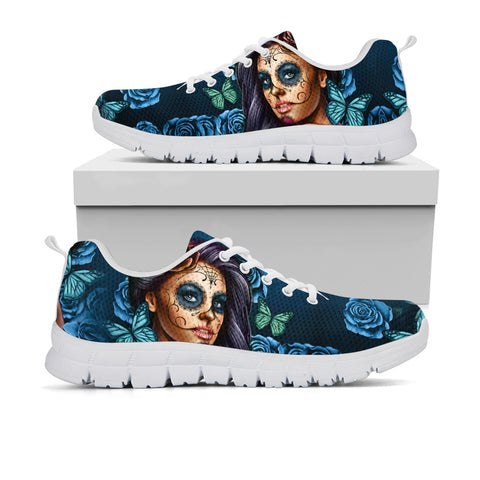Calavera Goddess Turquoise Sneakers