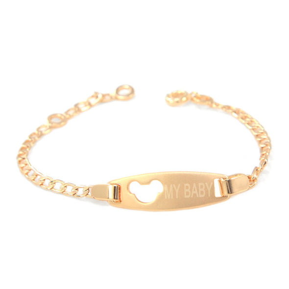 Mouse of Gold - Girl's Fashion Bracelet
