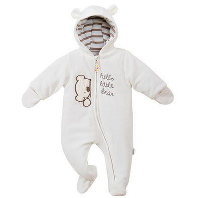 Cozy Cubs - Patterned Baby Onesie (Polar)