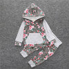 Stripes & Stems - Baby Pullover Set