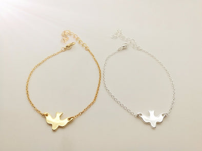 Spread Your Wings - Women's Charm Bracelet
