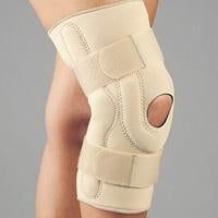 SAFE-T-SPORT Neoprene Stabilizing Knee Brace w/ Composite Hinges