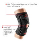 McDavid Knee Brace w/ Polycentric Hinges & Cross Straps - MD429X