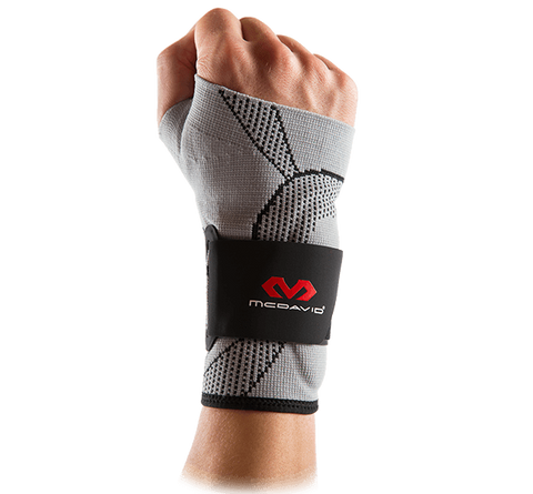 McDavid Wrist Sleeve/4-Way Elastic w/Gel Buttresses & Straps - MD5131