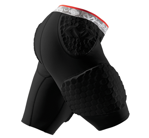 McDavid HEX® Dual-Density Short w/ Contoured Wrap-Around Thigh - MD7991DDC