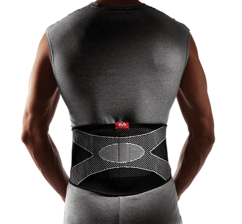 McDavid Back Support/4-Way Elastic w/Pad - MD5119