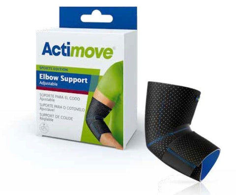 Actimove Elbow Support Sleeve, Adjustable (Sports Edition) - 7561730