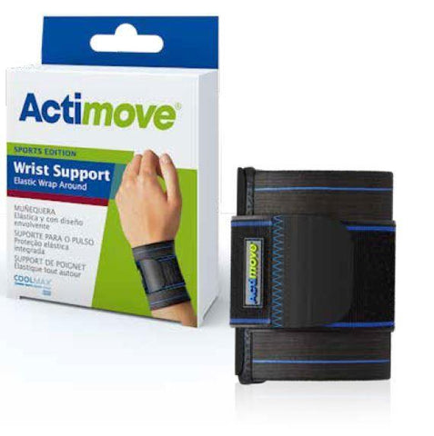 Actimove Sports Edition Elastic Wrap Around Wrist Support - 7341680
