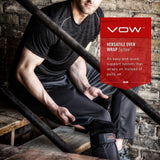 McDavid VOW™ Versatile Over Wrap Knee Wrap w/ Hinges & Strap - MD4205