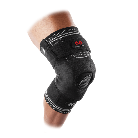 McDavid ELITE Engineered Elastic™ Knee Brace w/ Dual Wrap & Hinges - MD5149