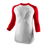 McDavid HEX® Sternum Raglan 3/4 Length Shirt - MD7630