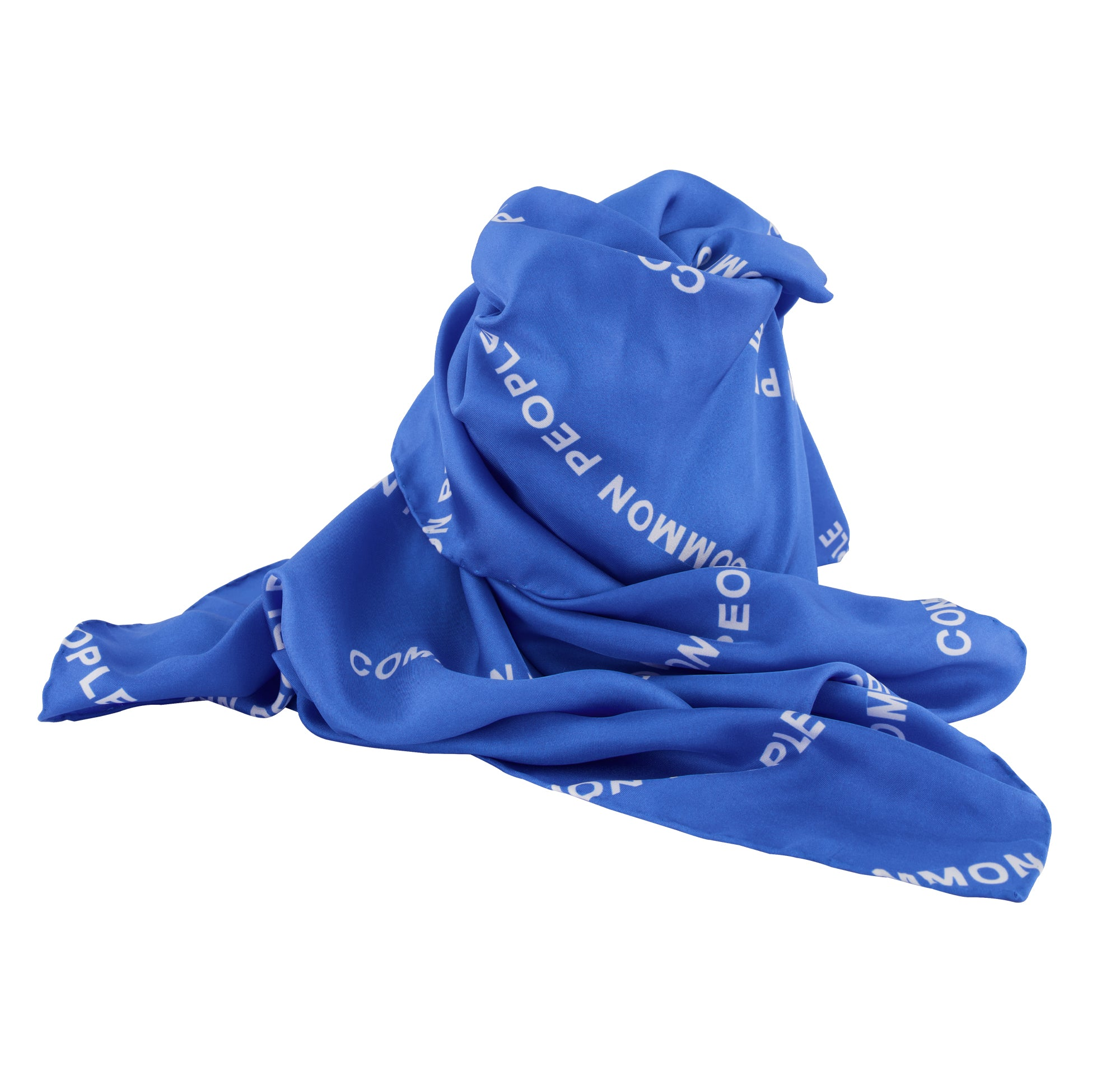 Silk Scarf - COMMON PEOPLE Repeat Print
