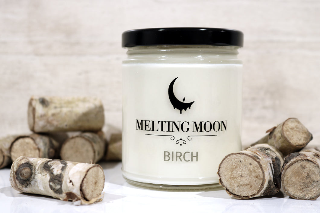 Birch Scented Soy Candle