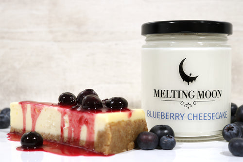 Blueberry Cheesecake Scented Soy Candle