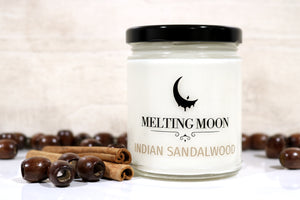 Indian Sandalwood Scented Soy Candle