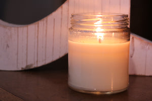 Peach Scented Soy Candle
