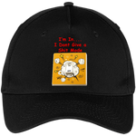 """Dont Give a"" Five Panel Twill Cap ~ Get Great Dealz"
