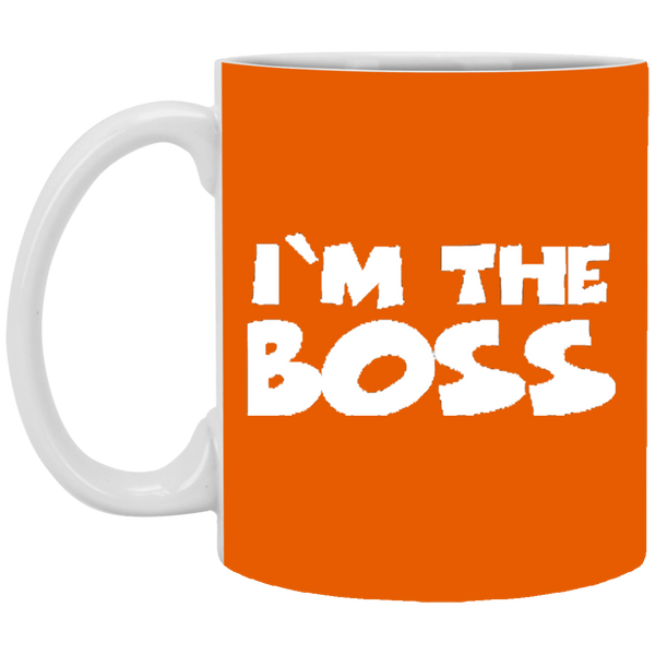 I'm The Boss  11 oz. White Mug ~ Get Great Dealz