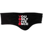 YOLO Fleece Headband ~ Get Great Dealz - Get Great Dealz