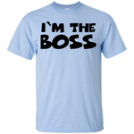 I'm The Boss Youth T-Shirt ~ Get Great Dealz - Get Great Dealz
