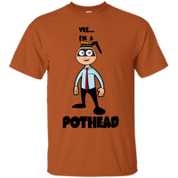 Yes I'm a Pothead Cotton T-Shirt ~ Get Great Dealz