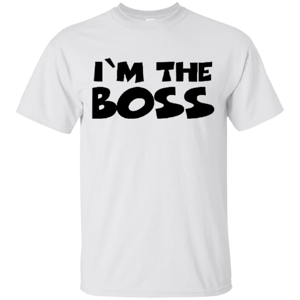 I'm The Boss Men's T-Shirt ~ Get Great Dealz - Get Great Dealz