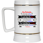 Hey Bartender Beer Stein 22oz. ~ Get Great Dealz