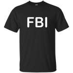 FBI Cotton T-Shirt ~ Get Great Dealz - Get Great Dealz