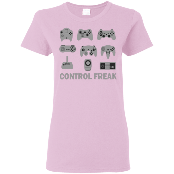 Control Freak Cotton Ladies T-Shirt ~ Get Great Dealz - Get Great Dealz