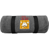"""Dont Give a""  Fleece Blanket ~ Get Great Dealz - Get Great Dealz"