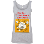"""Dont Give a"" Ladies' 100% Cotton Tank Top ~ Get Great Dealz"