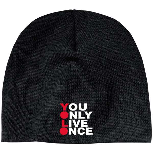 YOLO  Beanie ~ Get Great Dealz - Get Great Dealz