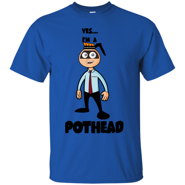 Yes I'm a Pothead Cotton T-Shirt ~ Get Great Dealz - Get Great Dealz