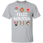 Feliz Navidog Cotton T-Shirt ~ Get Great Dealz - Get Great Dealz