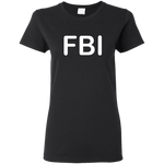 FBI Cotton Ladies T-Shirt ~ Get Great Dealz - Get Great Dealz