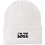 I'm the Boss Knit Cap ~ Get Great Dealz - Get Great Dealz