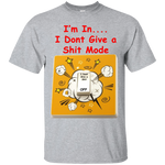 """Dont Give a"" Cotton T-Shirt ~ Get Great Dealz - Get Great Dealz"