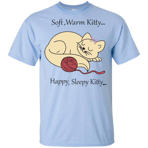 Sleepy Kitty Youth T-Shirt ~ Get Great Dealz