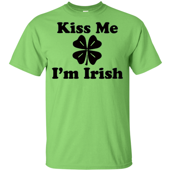 Kiss Me I'm Irish Kids Cotton T-Shirt ~ Get Great Dealz