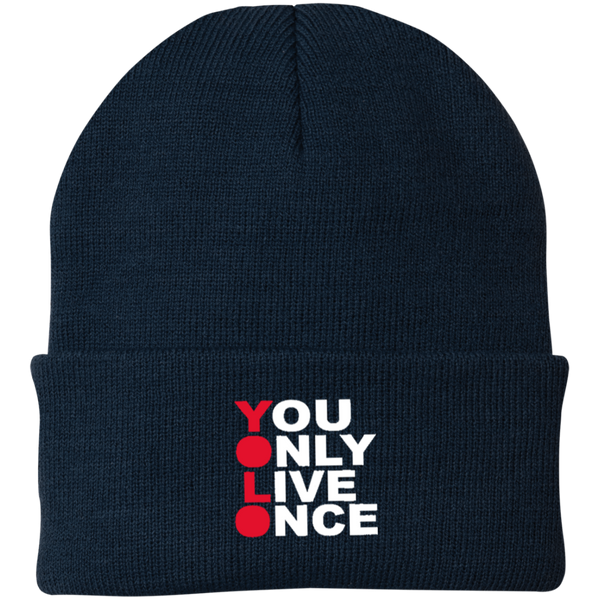 YOLO Knit Cap ~ Get Great Dealz