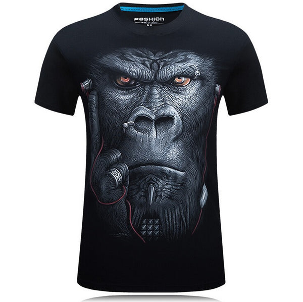 2017  ~ 3D Mens Animal Printed Casual T-shirt's ~ Get Great Dealz