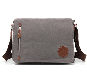 "The Burma Pack - Classic Canvas 14.5"" Laptop Messenger Bag from Manly Packs"