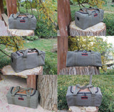 The Runaway Duffel - Men's Large-Capacity Canvas Travel Bag from Manly Packs