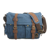 The Rockhopper - Travel-Friendly Men's Canvas Messenger Bag from Manly Packs